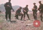 Image of Montagnard soldiers Pleiku South Vietnam, 1969, second 12 stock footage video 65675075555