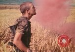 Image of Montagnard soldiers Pleiku South Vietnam, 1969, second 6 stock footage video 65675075559