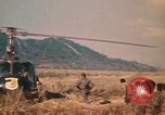 Image of Montagnard soldiers Pleiku South Vietnam, 1969, second 7 stock footage video 65675075560