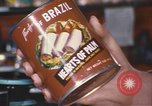 Image of can of hearts of palm United States USA, 1967, second 2 stock footage video 65675075566