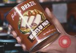 Image of can of hearts of palm United States USA, 1967, second 4 stock footage video 65675075566