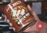 Image of can of hearts of palm United States USA, 1967, second 5 stock footage video 65675075566
