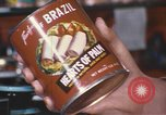 Image of can of hearts of palm United States USA, 1967, second 6 stock footage video 65675075566