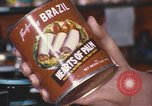 Image of can of hearts of palm United States USA, 1967, second 8 stock footage video 65675075566