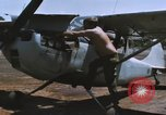 Image of O-1 Bird Dog liaison aircraft Bien Hoa Vietnam, 1970, second 6 stock footage video 65675075600