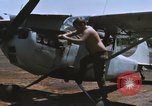 Image of O-1 Bird Dog liaison aircraft Bien Hoa Vietnam, 1970, second 7 stock footage video 65675075600