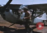 Image of O-1 Bird Dog liaison aircraft Bien Hoa Vietnam, 1970, second 8 stock footage video 65675075600