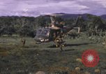 Image of UH-1F Iroquois helicopters Vietnam, 1968, second 9 stock footage video 65675075604