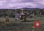 Image of UH-1F Iroquois helicopters Vietnam, 1968, second 12 stock footage video 65675075604