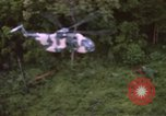 Image of HH-3E Jolly Green Giant helicopters Vietnam, 1968, second 10 stock footage video 65675075607