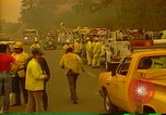 Image of firefighters California United States USA, 1987, second 10 stock footage video 65675075624