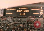 Image of handball game Munich Germany, 1972, second 1 stock footage video 65675075646
