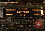 Image of handball game Munich Germany, 1972, second 6 stock footage video 65675075646