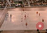 Image of handball game Munich Germany, 1972, second 7 stock footage video 65675075646
