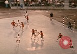 Image of Team handball game Munich Germany, 1972, second 12 stock footage video 65675075647