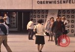 Image of Visitors strolling in Olympic Park Munich Germany, 1972, second 5 stock footage video 65675075653