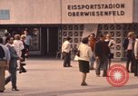 Image of Visitors strolling in Olympic Park Munich Germany, 1972, second 6 stock footage video 65675075653