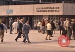 Image of Visitors strolling in Olympic Park Munich Germany, 1972, second 7 stock footage video 65675075653