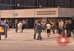 Image of Visitors strolling in Olympic Park Munich Germany, 1972, second 8 stock footage video 65675075653