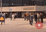Image of Visitors strolling in Olympic Park Munich Germany, 1972, second 9 stock footage video 65675075653