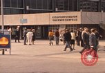 Image of Visitors strolling in Olympic Park Munich Germany, 1972, second 10 stock footage video 65675075653
