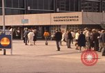 Image of Visitors strolling in Olympic Park Munich Germany, 1972, second 11 stock footage video 65675075653