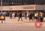 Image of Visitors strolling in Olympic Park Munich Germany, 1972, second 12 stock footage video 65675075653