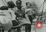Image of Negro children New Orleans Louisiana USA, 1937, second 5 stock footage video 65675075663