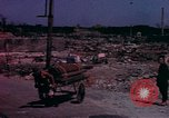 Image of bombed-out city Japan, 1945, second 1 stock footage video 65675075691