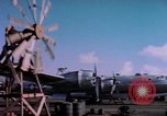 Image of B-29 Superfortress aircraft Guam Mariana Islands, 1945, second 4 stock footage video 65675075693