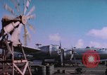 Image of B-29 Superfortress aircraft Guam Mariana Islands, 1945, second 9 stock footage video 65675075693
