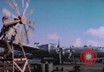 Image of B-29 Superfortress aircraft Guam Mariana Islands, 1945, second 10 stock footage video 65675075693
