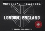 Image of Winston Churchill London England United Kingdom, 1939, second 7 stock footage video 65675075695