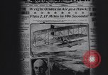 Image of Wilbur Wright Le Mans France, 1908, second 9 stock footage video 65675075711