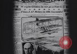 Image of Wilbur Wright Le Mans France, 1908, second 10 stock footage video 65675075711
