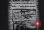 Image of Wilbur Wright Le Mans France, 1908, second 11 stock footage video 65675075711
