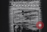 Image of Wilbur Wright Le Mans France, 1908, second 12 stock footage video 65675075711
