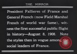 Image of President Armand Fallieres Le Mans France, 1908, second 1 stock footage video 65675075712
