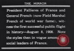 Image of President Armand Fallieres Le Mans France, 1908, second 2 stock footage video 65675075712