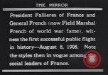 Image of President Armand Fallieres Le Mans France, 1908, second 3 stock footage video 65675075712