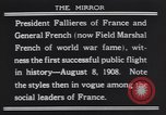 Image of President Armand Fallieres Le Mans France, 1908, second 6 stock footage video 65675075712