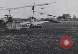 Image of early model airplane France, 1910, second 12 stock footage video 65675075717