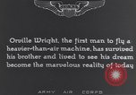 Image of Orville Wright France, 1935, second 5 stock footage video 65675075738