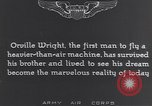 Image of Orville Wright France, 1935, second 7 stock footage video 65675075738