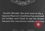 Image of Orville Wright France, 1935, second 10 stock footage video 65675075738
