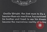 Image of Orville Wright France, 1935, second 12 stock footage video 65675075738