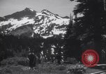 Image of mountaineers Washington State United States USA, 1938, second 8 stock footage video 65675075741