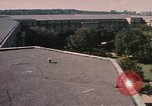 Image of center court of Pentagon Arlington Virginia USA, 1972, second 4 stock footage video 65675075762
