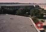 Image of center court of Pentagon Arlington Virginia USA, 1972, second 5 stock footage video 65675075762