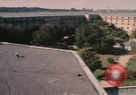 Image of center court of Pentagon Arlington Virginia USA, 1972, second 6 stock footage video 65675075762
